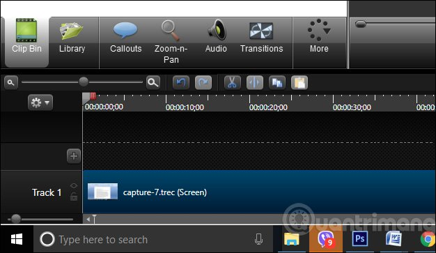 Cách zoom video trong Camtasia, cách phóng to video trong Camtasia-0