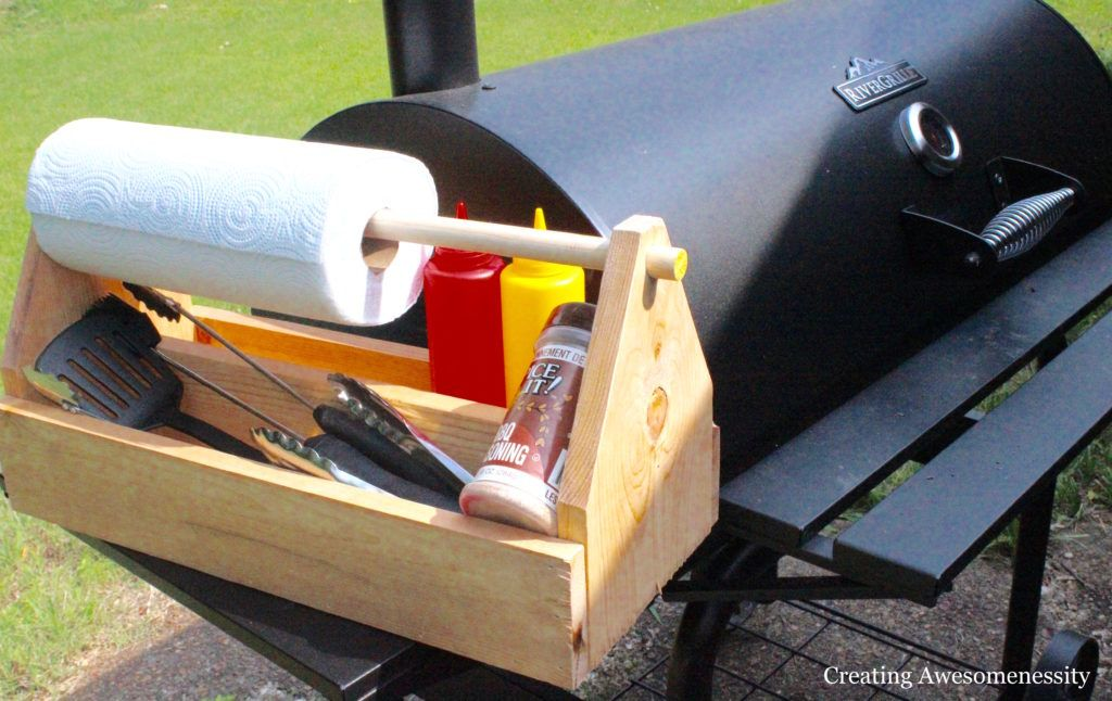 How to Make a Garden Toolbox - Grill Caddy-0