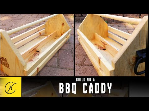 How to Make a Garden Toolbox - Grill Caddy-1