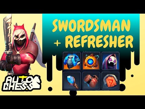 IS REFRESHER SWORDSMAN STRONG? | AUTO CHESS MOBILE-0