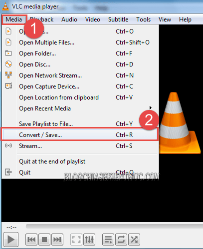 Xóa audio khỏi video bằng VLC - Delete audio from video by VLC media !-2